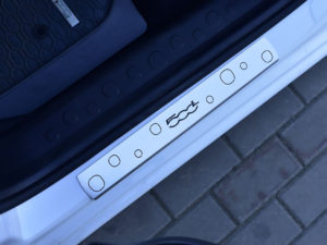 FIAT 500 L DOOR SILLS - Quality interior & exterior steel car accessories and auto parts