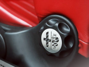 ALFA ROMEO 147 FRONT SEAT ADJUSTMENT KNOB COVER - Quality interior & exterior steel car accessories and auto parts