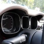 FIAT PANDA II GAUGES COVER - Quality interior & exterior steel car accessories and auto parts