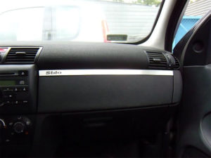 FIAT STILO ABOVE GLOVE BOX COVER - Quality interior & exterior steel car accessories and auto parts