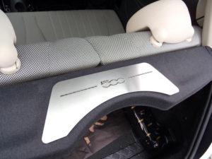 FIAT 500 PARCEL SHELF COVER - Quality interior & exterior steel car accessories and auto parts