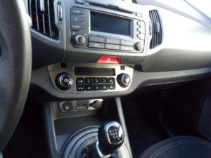 KIA SPORTAGE CLIMATE CONTROL PANEL COVER - Quality interior & exterior steel car accessories and auto parts