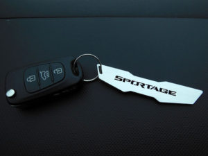 KIA SPORTAGE KEYRING - Quality interior & exterior steel car accessories and auto parts