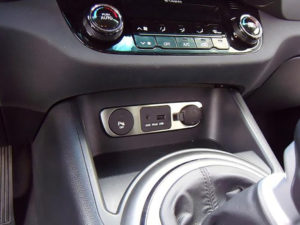 KIA SPORTAGE CENTER AUDIO OUTPUT COVER - Quality interior & exterior steel car accessories and auto parts