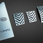 KIA CEED PEDALS AND FOOTREST - Quality interior & exterior steel car accessories and auto parts