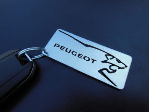 PEUGEOT KEYRING 2 - Quality interior & exterior steel car accessories and auto parts