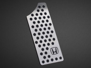 HONDA CIVIC X FOOTREST - Quality interior & exterior steel car accessories and auto parts