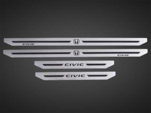 HONDA CIVIC X DOOR SILLS - Quality interior & exterior steel car accessories and auto parts
