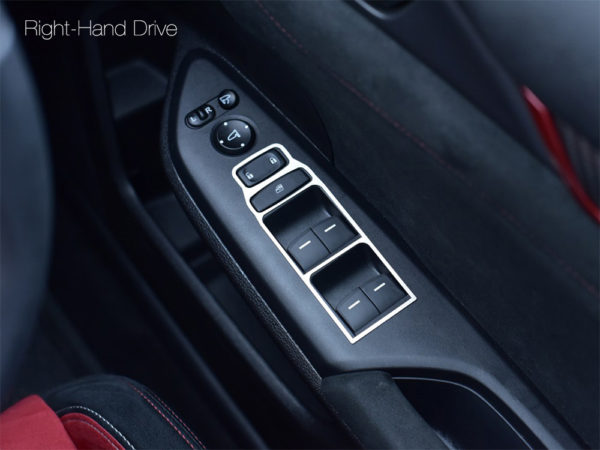 HONDA CIVIC X & TYPE R V FK8 DOOR CONTROL COVER