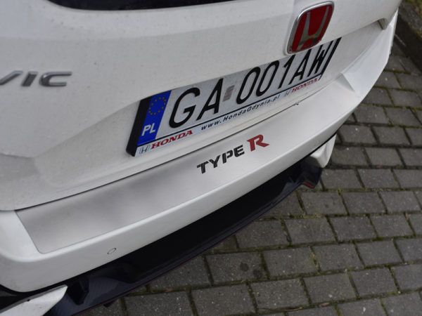 HONDA CIVIC X TYPE R V FK8 REAR BUMPER PROTECTION COVER- Quality interior & exterior steel car accessories and auto parts crafted with an attention to detail.