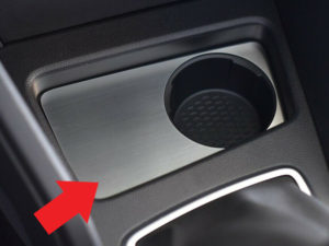 DACIA DUSTER 2 II Mk2 CUP HOLDER COVER - Quality interior & exterior steel car accessories and auto parts crafted with an attention to detail.