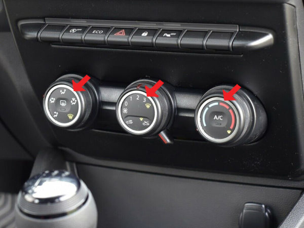DACIA DUSTER 2 II Mk2 CENTER SWITCHES COVER - Quality interior & exterior steel car accessories and auto parts crafted with an attention to detail.