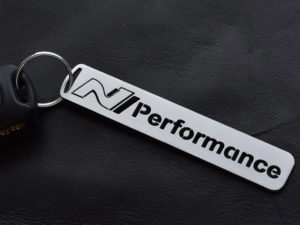 HYUNDAI i30N i30 N FASTBACK VELOSTER PERFORMANCE KEYRING - Quality interior & exterior steel car accessories and auto parts crafted with an attention to detail.