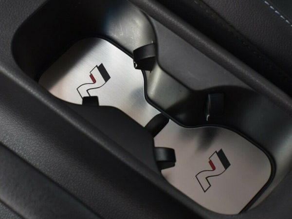 HYUNDAI i30N i30 N FASTBACK VELOSTER CUP HOLDER COVER - Quality interior & exterior steel car accessories and auto parts crafted with an attention to detail.