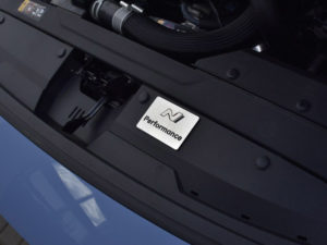 HYUNDAI i30N i30 N FASTBACK VELOSTER ENGINE EMBLEM COVER - Quality interior & exterior steel car accessories and auto parts crafted with an attention to detail.