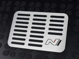 HYUNDAI i30N i30 N FASTBACK VELOSTER FLOOR MAT HEEL REST COVER - Quality interior & exterior steel car accessories and auto parts crafted with an attention to detail.